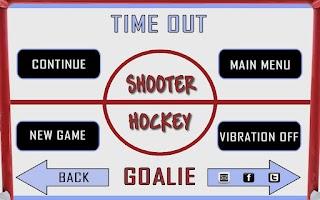 Screenshot of Shooter Hockey