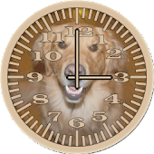 Dog 4 Retriever Analog Clock