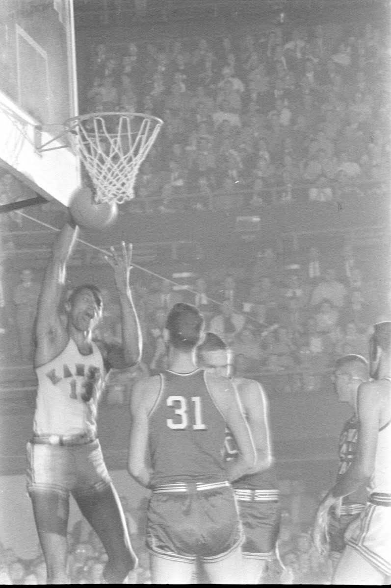 Wilt Chamberlain, Kansas University Basketball Player