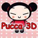 Pucca 3D Wallpaper FREE logo