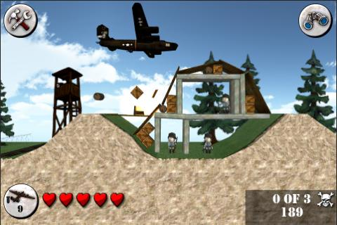 Angry World War 2 FREE- screenshot