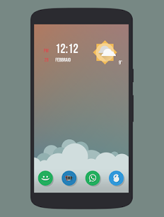 Naxos Flat Round Icon Pack - screenshot thumbnail