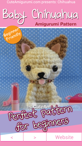 【免費書籍App】Chihuahua Amigurumi Pattern-APP點子