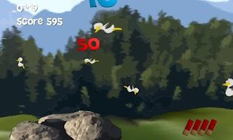 Screenshot of Mad Goose Hunting Game