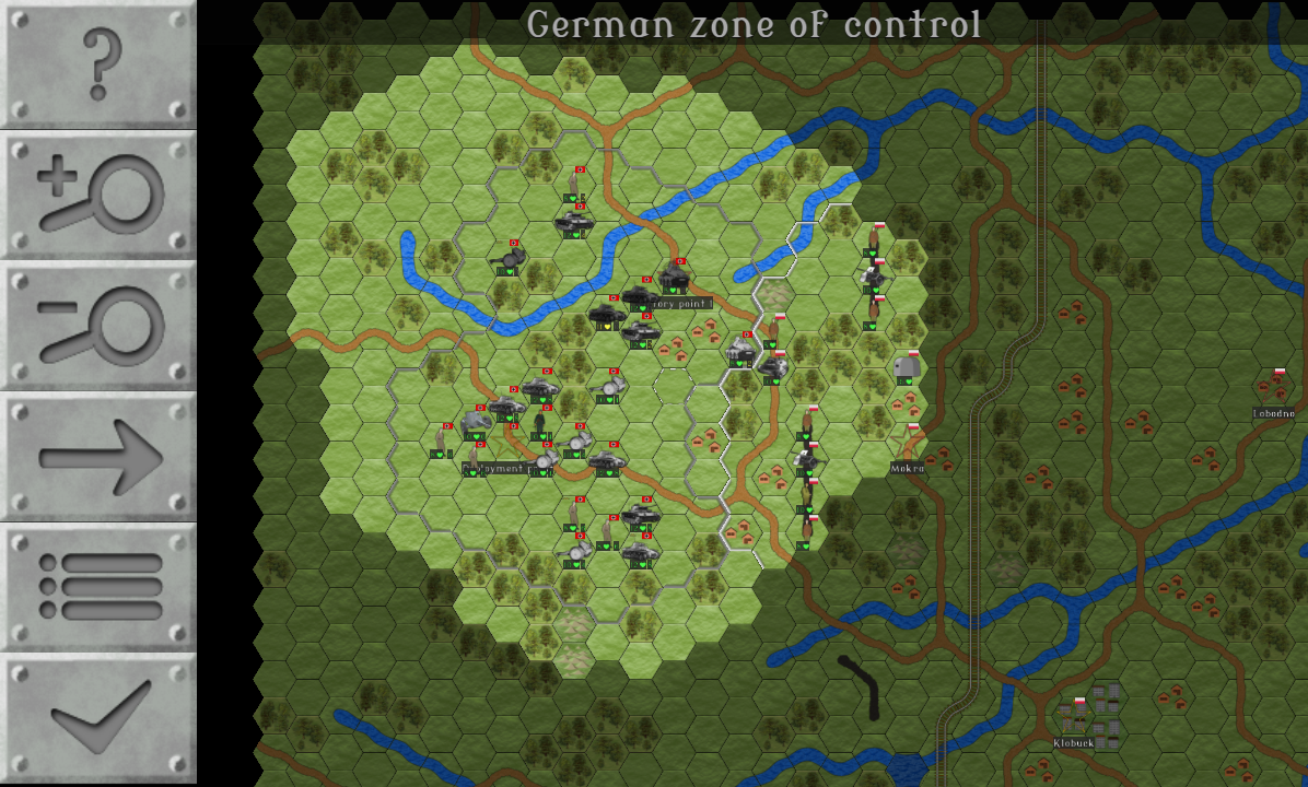 Wargames of 1939- screenshot