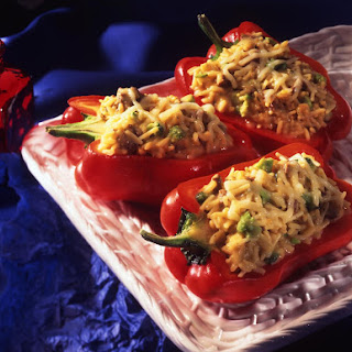 Rice-stuffed Peppers.