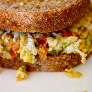 Egg Sandwich a la Mexicana