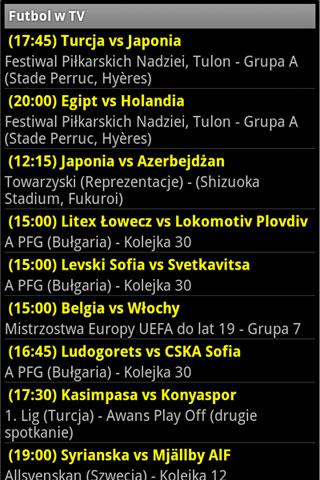 Futbol w TV Pro