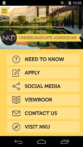 NKU Admissions