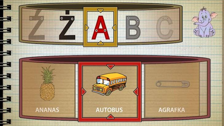 Wesoły alfabet- screenshot thumbnail
