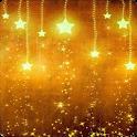 Galaxy falling stars LWP icon