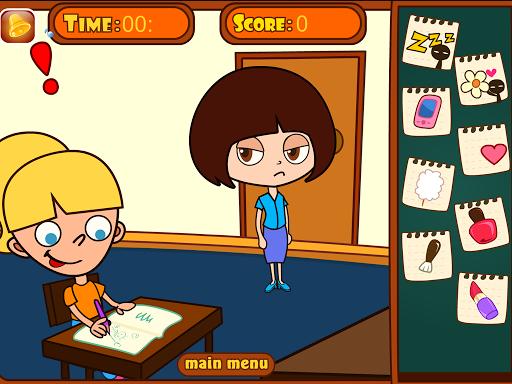 课堂上捣乱,女生游戏|玩休閒App免費|玩APPs