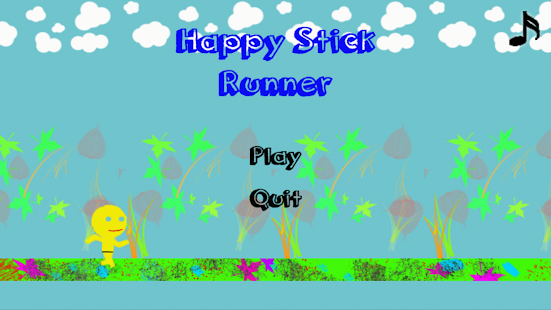 Happy Stick Run- screenshot thumbnail