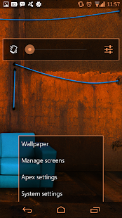 Arctic Orange CM11 AOKP Theme - screenshot thumbnail