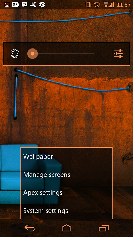 Arctic Orange CM11 AOKP Theme- screenshot