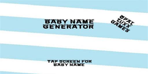 Simple Baby Boy Name Generator