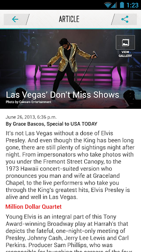 USA TODAY Experience Las Vegas