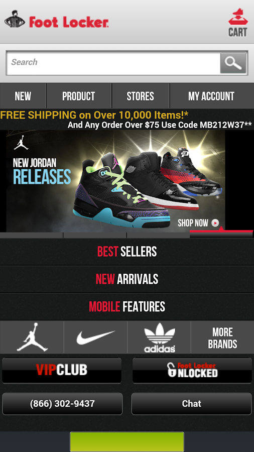 Easy Shop Footlocker-Old - screenshot