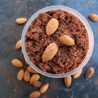 Chocolate Almond Sugar Scrub