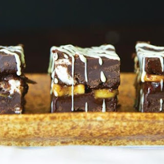 Chocolate-Peanut Butter Marshmallow Bars
