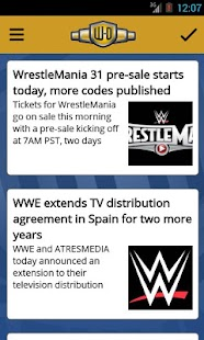 Wrestling-Online.com News Free- screenshot thumbnail