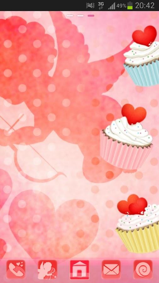 GO Launcher Theme cupcake Buy - screenshot