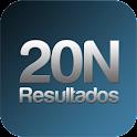 20N: Resultados electorales logo