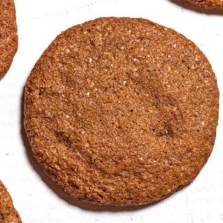 Gluten-Free Ginger Molasses Cookies.