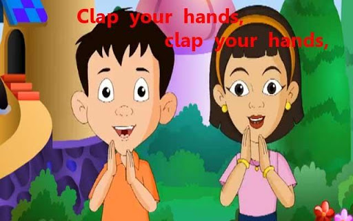Kids Poem Clap Your Hands