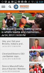 cleveland.com: Browns News - screenshot thumbnail