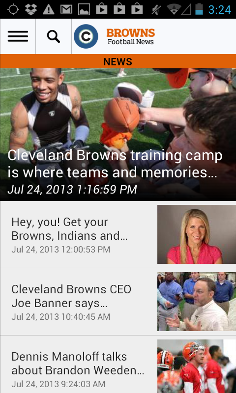 cleveland.com: Browns News - screenshot