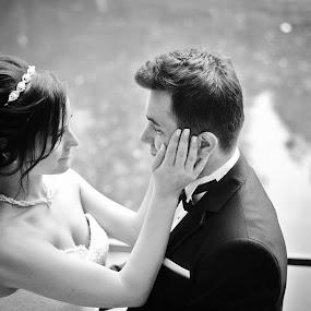Bride and Groom by Ozge Kesim Yurtsever - Wedding Bride & Groom ( love, happy, wedding, outdoor, excited, bride and groom, Wedding, Weddings, Marriage,  )