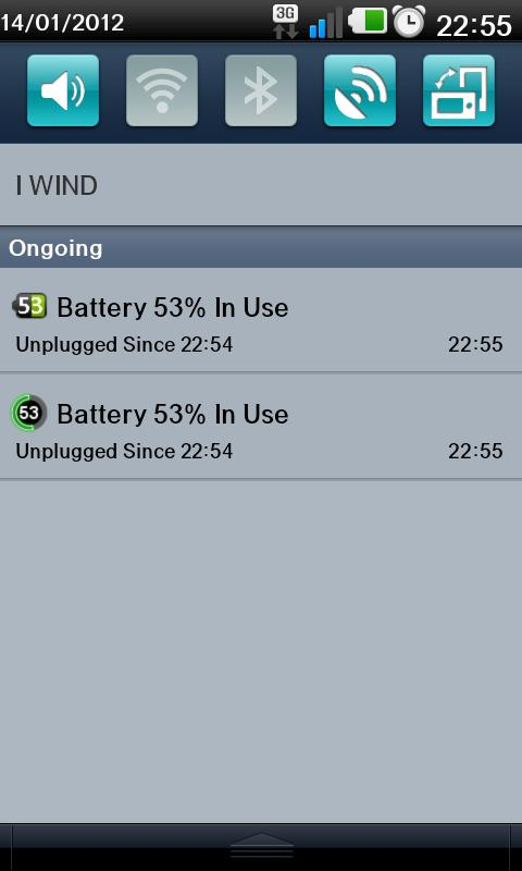 Battery Monitor Widget - screenshot