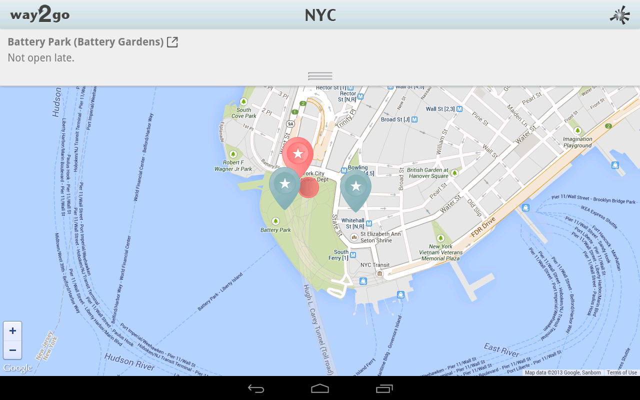 Way2Go NYC- screenshot