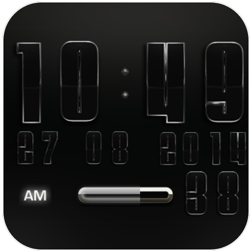 Digi Clock Widget Vanguard