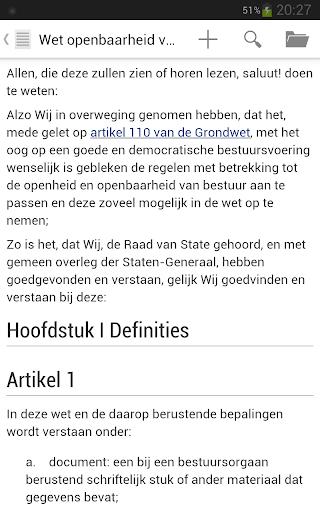 Nederlandse Wet