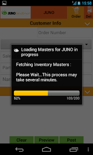 Juno -Data Entry to Tally ERP9 - náhled