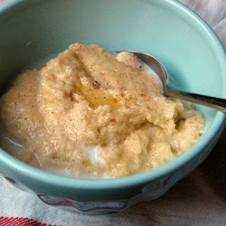 Cream of Wheat with Egg and Vanilla