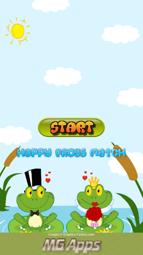 Happy Frogs Match