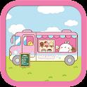 몰랑이 알럽아이스크림 카카오톡 테마 icon