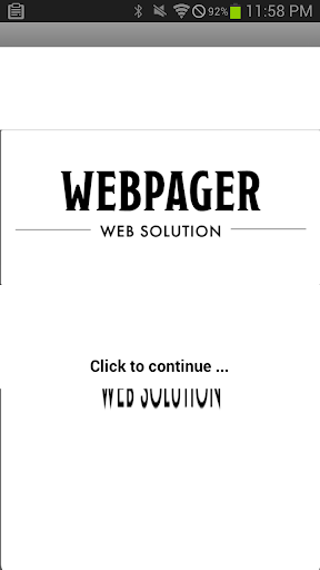 Webpager