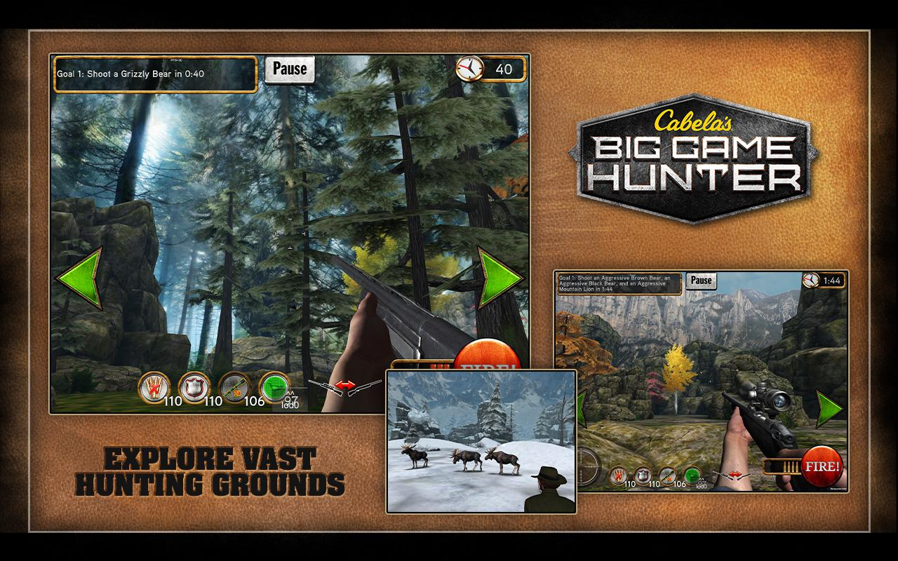 Cabela's Big Game Hunter- screenshot
