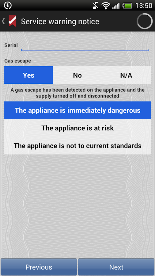 ESC Gas Certificate - Android Apps on Google Play