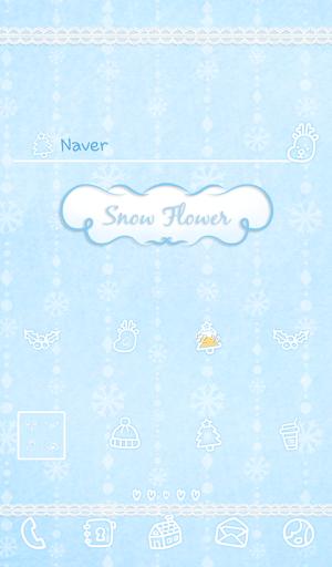 Snow flower 도돌런처 테마