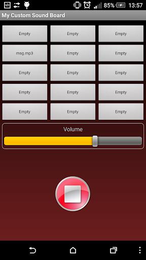 My Custom Sound Board