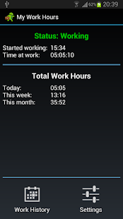 My Work Hours - screenshot thumbnail