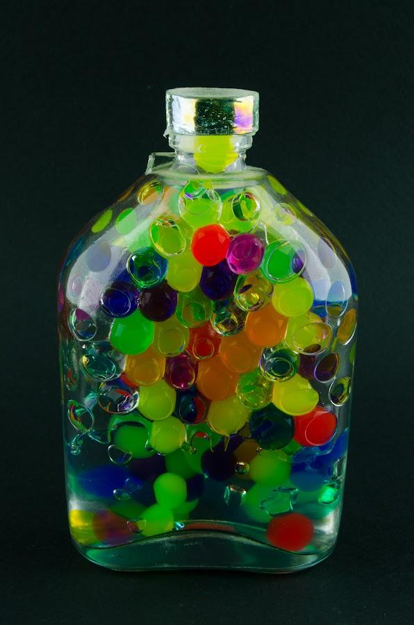 Decor Bottle by Luca Arșinel - Artistic Objects Glass (  )