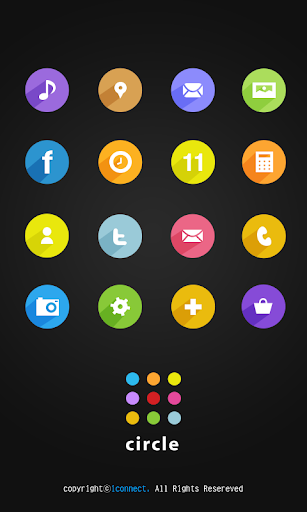 Circle Icon Style