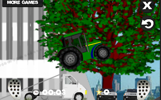 Screenshot of Farm driver - uphill Tractor