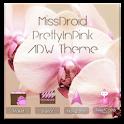 MissDroid PrettyPink ADW Theme logo